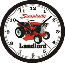 Simplicity Lanlord Lawn Tractor Wall CLOCK-Free Usa Ship - $28.70+