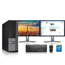Dell Computer 2.8 G Hz Pc 8GB Ram 1 Tb Hdd Windows 10 - $510.51