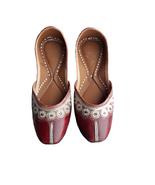 punjabi jutti bridal shoes,indian shoes, traditional shoes USA-6        ... - $29.99