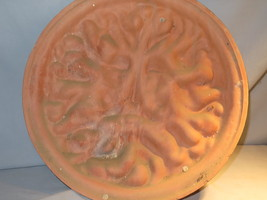 """Terra Cotta Sun Face 14"""" Wall Hanging Awesome Looking Item - $14.25"""