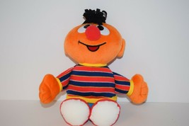 "Sesame Street Ernie Plush 11"" 2002 Mattel Fischer-Price Sesame Workshop - $12.86"