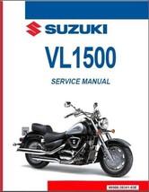 1998-2009 Suzuki Intruder 1500 ( VL1500 ) / Boulevard C90 Service Manual on a CD - $12.99