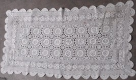 Vintage Crocheted Table Runner - Wonderful Classic Pattern - VGC - VERY PRETTY - $29.69