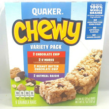 Quaker Oats Chewy Granola Bars Variety Pack 6.7oz. Free Expidited Shipping - $12.99