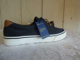$65.0 Polo Ralph Lauren Men's Thorton Lace-Up Sneakers, Canvas, Black, Size 9, D - $42.82