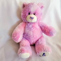 Build A Bear Purple & Pink -LE- Butterfly Nose Plush Teddy Bear Spring S... - $29.69