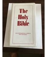 The Holy Bible New Testament~New International Version~12 Cassette Tape Set - $9.00