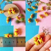 4Pcs/bear/miniatures/lovely animals/fairy garden gnome/moss terrarium de... - $6.06