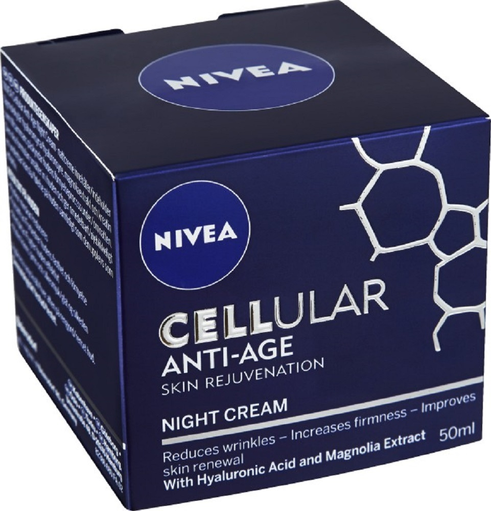 Primary image for NIVEA Cellular Anti-Age Face Night Cream 50ml/1.7oz