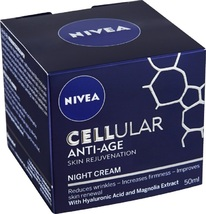 NIVEA Cellular Anti-Age Face Night Cream 50ml/1.7oz  - $58.00