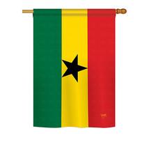 "Ghana - 28"" x 40"" Impressions House Flag - H108221 - $36.87"