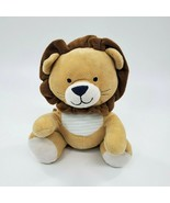"""9"""" Carters Tan Lion Wind-up Musical Baby Plush Toy Brahms Stuffed Lovey ... - $19.97"""