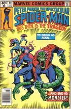 The Spectacular Spider-Man Comic Book #40 Marvel 1980 FINE- - $3.25