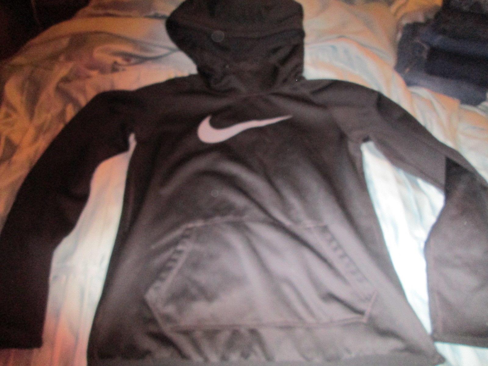 0bdf93c246f0 Girls Nike Dri-Fit Black PullOver Hoodie Jacket size L -  15.00
