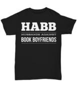 Husbands Against Book Boyfriends Funny TShirt Tee Outlander Jamie Fraser... - $18.33+
