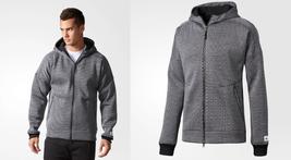 new adidas ATHLETICS X REIGNING CHAMP SPACER MESH ZNE hoodie sz M jacket... - $89.90