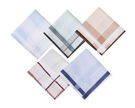Assorted Mens Classic 38cm Square Cotton Handkerchiefs Hanky - $16.47