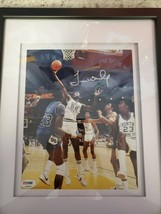 James Worthy autographed and custom framed 8x10,  PSA certified - £45.38 GBP