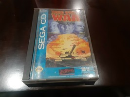 Third World War (Sega CD, 1994) Game, Case and Manual - Tested!! - $35.09 CAD