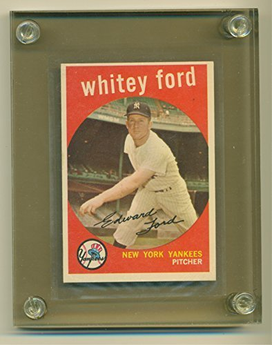 1959 Topps Whitey Ford #430 New York Yankees - Likely Grade 6 or 7