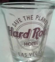 Hard Rock Cafe Las Vegas Shot Glass Nevada - $4.90