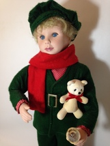 Holiday Choir Boy Noel Animated Figure Motionette Vintage 1990 Smile IND... - $79.00