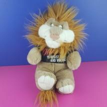 "DARE Violence Education Daren Lion Plush Stuffed 16"" 1990s Vintage 1994 - $16.82"
