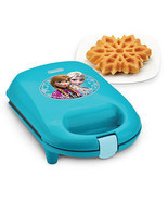 Disney Frozen Anna & Elsa Snowflake Waffle Maker New with Box - £25.61 GBP