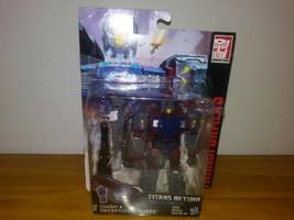 Transformers Titans Return CHASM & DECEPTION QUAKE New in Box - $11.87