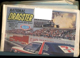 NATIONAL DRAGSTER-5/23/1986-CAJUN NATIONAL SOUVENIR EDITION-NHRA VG - $43.46