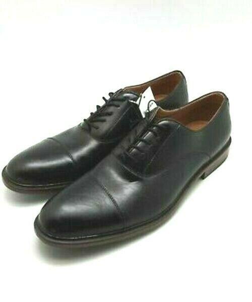 Goodfellow & co. Black Faux Leather Joseph Oxford Dress Shoes Size 7 US NWT