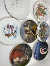 Vintage Avon Christmas Plates 80's 90's Lot C2 - $54.00