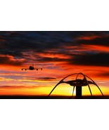 LAX Airport Airplane Landing POSTER 24 X 36 Inch | Beautiful - $18.80