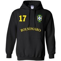 Number on BACK VOTE 17 Bolsonaro Presidente 2018 Men's Winter Hoodies S-5XL - $39.55