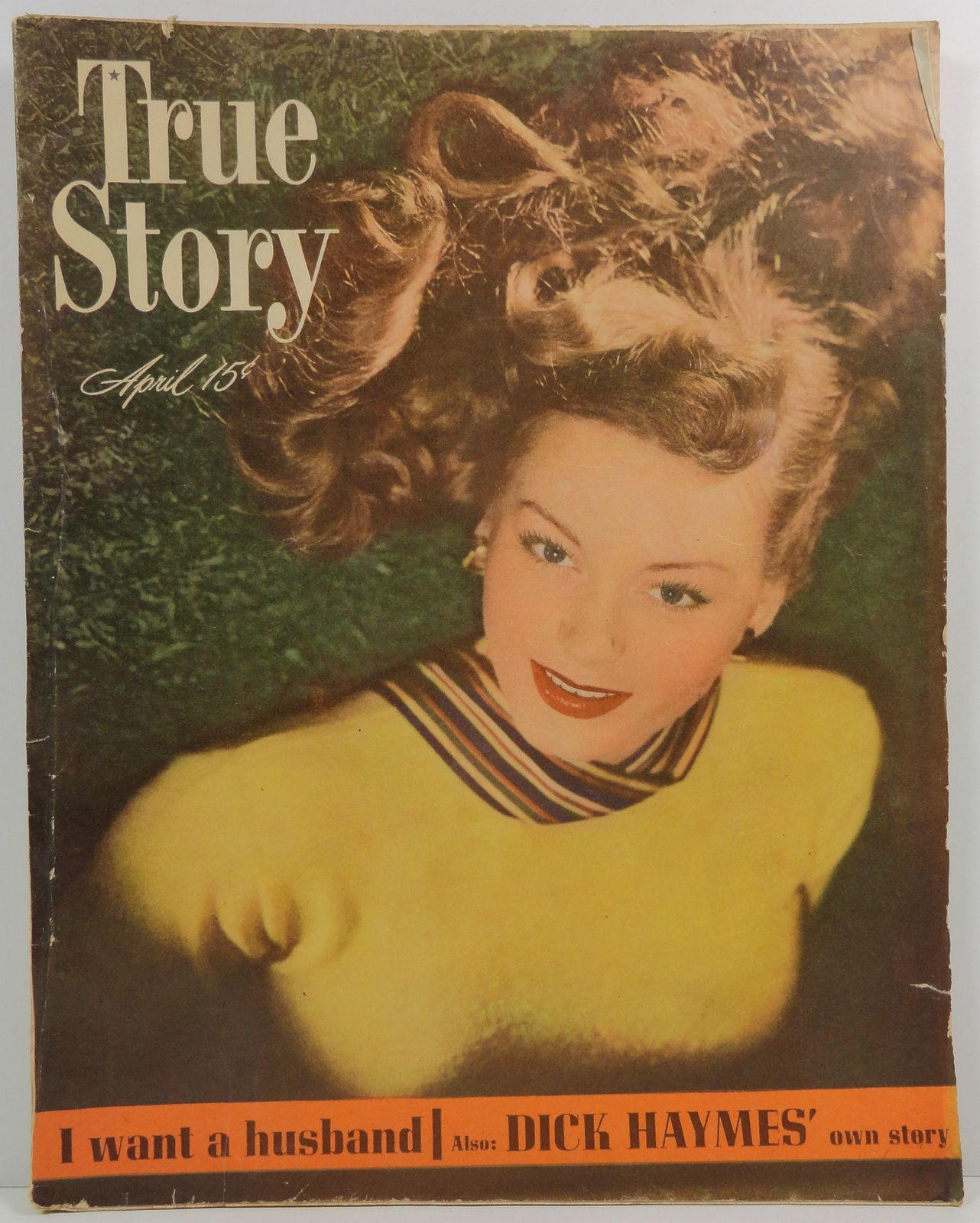 True Story Magazine April 1948 Dick Haymes Story