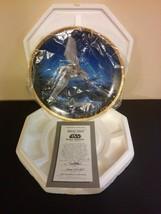 Star Wars Hamilton Collector Plate 1995 - Imperial Shuttle No. 0724B  W/COA - $19.79