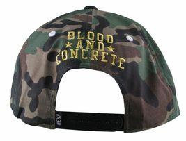 KR3W Men's Camo FTW Fu$k the World Blood and Concrete Snapback Baseball Hat NWT image 4