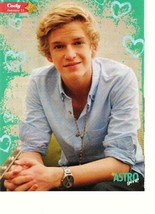 Cody Simpson teen magazine pinup clipping wavy hair J-14 Astro Popstar - $3.50