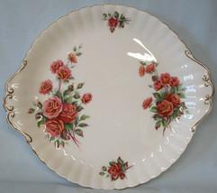 Royal Albert Centennial Rose cake Plate Factory 2nds ?? - $23.65
