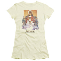 Labyrinth Movie Poster Image Baby Doll/Juniors T-Shirt David Bowie NEW U... - $19.34+