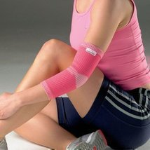 Vulkan Pink Advanced Elastic Elbow Support for Women, Small, Compression Support - $19.99