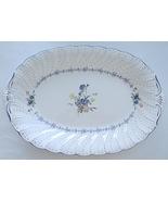 Nikko Blue Peony 851 Platter 14 Inch Oval - $29.99