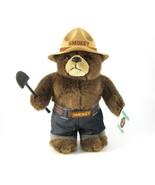 "Smokey the Bear, Plush Teddy, 1994, Original Tag, 12"", Freestanding, Gif... - $48.00"