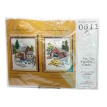 Creative Circle 0511 Stoney Creek Covered Bridge Needlepoint Kit Sealed  - $24.99