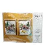 Creative Circle 0511 Stoney Creek Covered Bridge Needlepoint Kit Sealed  - $24.99