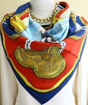 "Authentic Vintage Hermes Silk Scarf  ""Grand Apparat"" Jacques Eudel Carre... - $279.00"