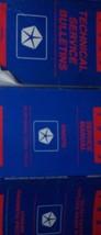 1993 Dodge Dakota TRUCK Service Repair Shop Manual SET FACTORY W BULLETINS  - $128.69