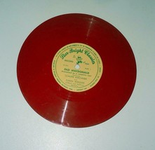 Old MacDonald Star Bright Classic 45 RED  Record  1950 Childrens - $5.93