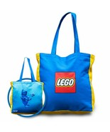 LEGO VIP Promotion Reversible Canvas Tote Bag (5005910) Officially Licen... - $14.99