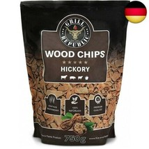 Premium Hickory Räucherchips für optimales Raucharoma beim Grillen  (Hic... - $15.33